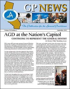 GPNewsFlash December 2015 | California AGD